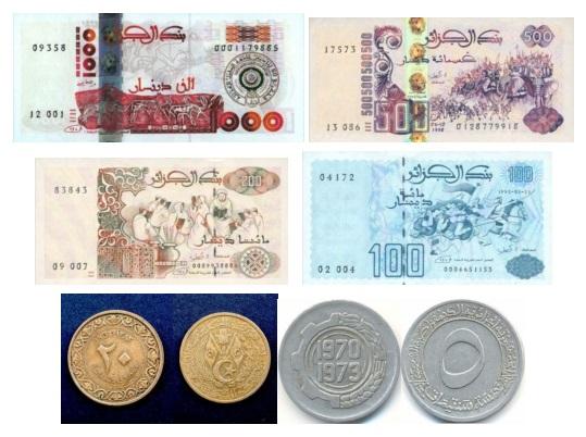Алжир деньги