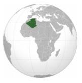 Алжир глобус