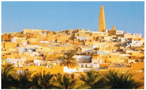 Алжир город Бени-Исген