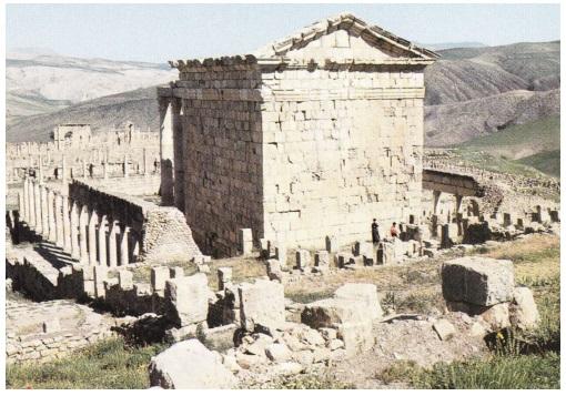 Алжир город Джемиля