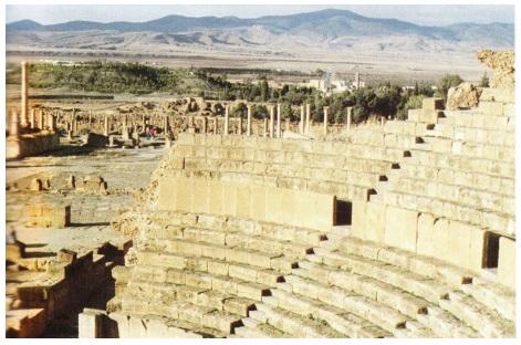 Алжир город Тимгад