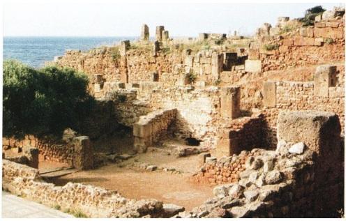 Алжир город Типас
