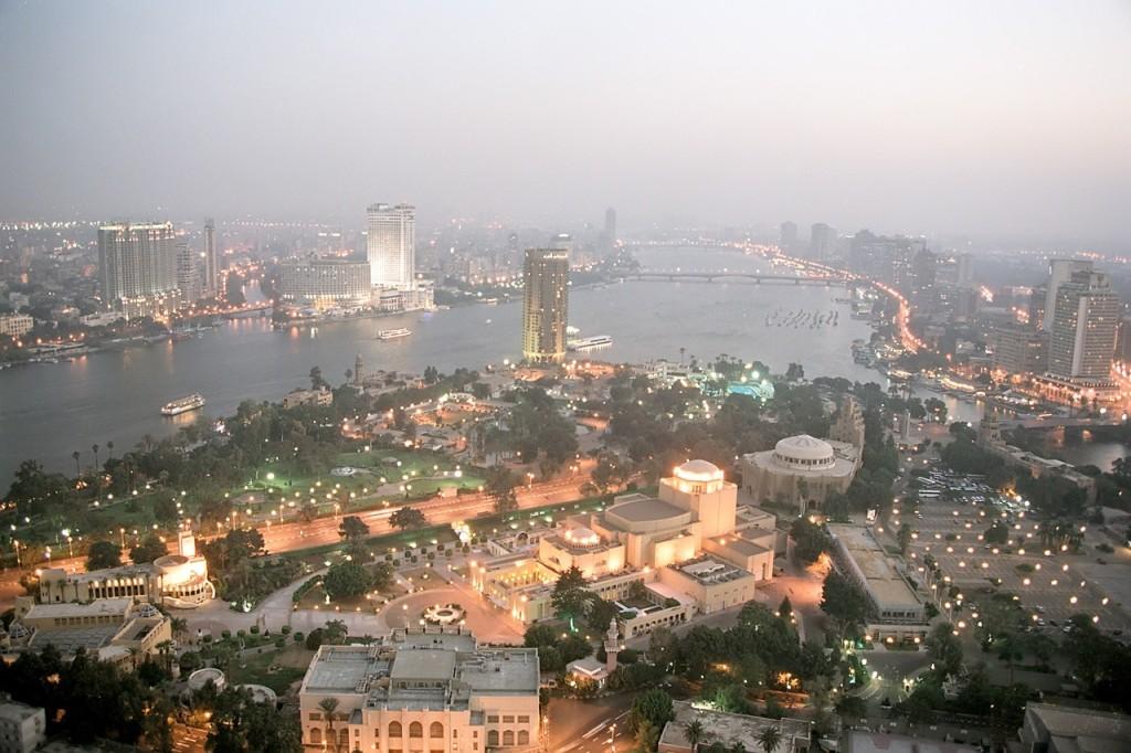 Каир ночной (Египет)