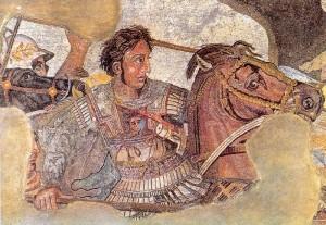 Александр македонский фреска