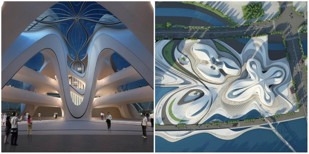 Международный центр культуры и искусства, Чанша, Китай