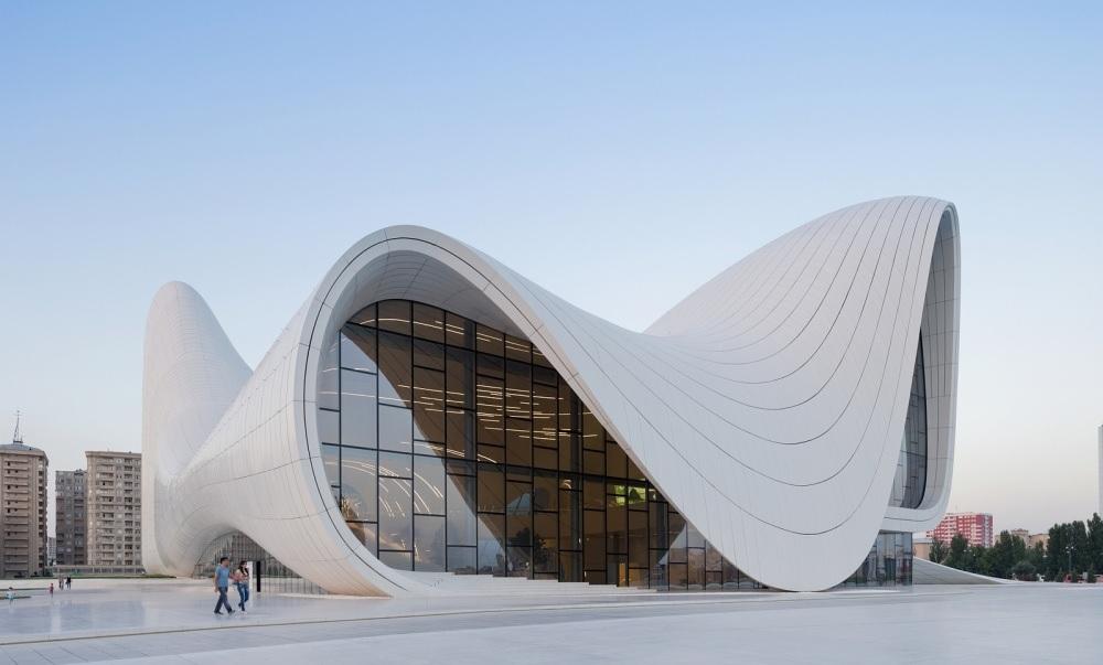 Центр Гейдара Алиева, Баку, Азербайджан