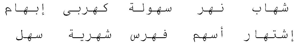Арабский алфавит