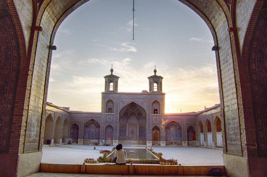 Мечеть Насир Аль-Мульк в Ширазе (Иран)