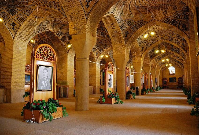 Мечеть Насир Аль-Мульк в Ширазе (Иран) 019