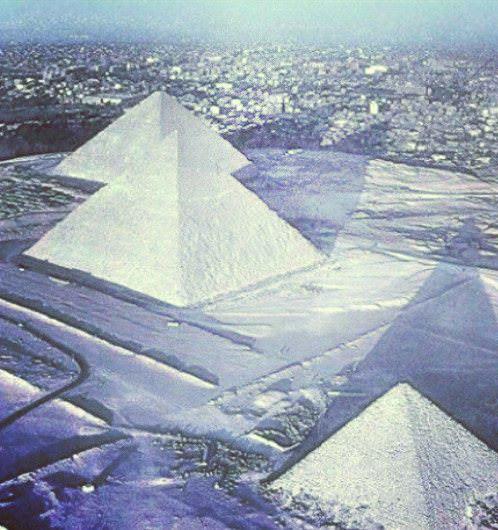 Снег в Египте, 2014