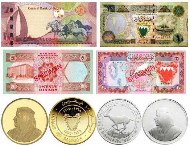 Бахрейн деньги