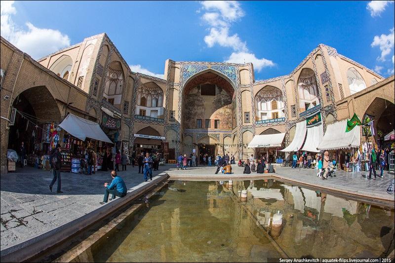 Исхафан. Восточный базар 002
