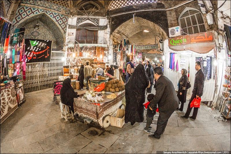 Исхафан. Восточный базар 007
