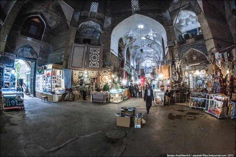 Исхафан. Восточный базар 008