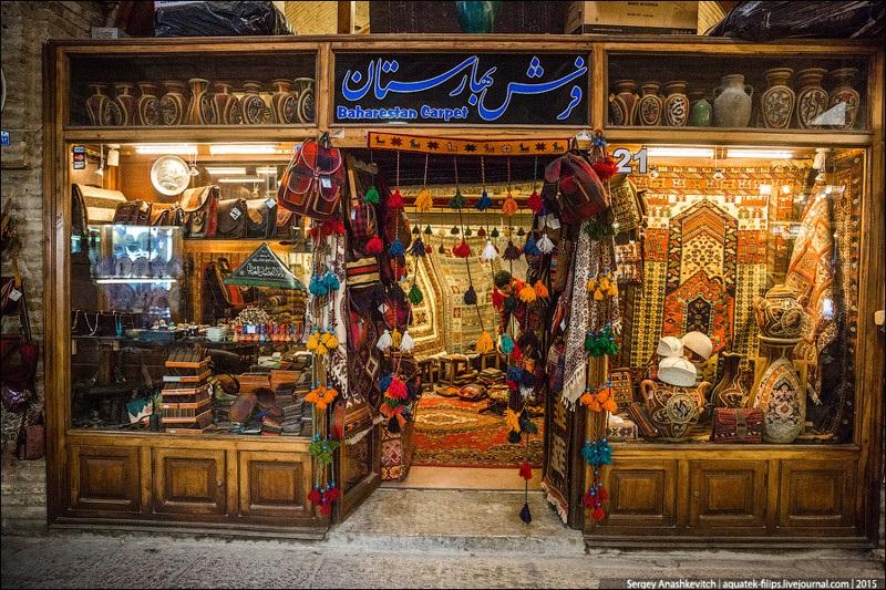 Исхафан. Восточный базар 013
