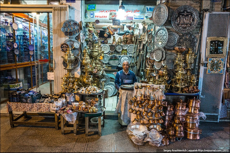 Исхафан. Восточный базар 019