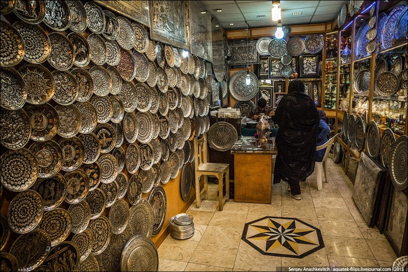 Исхафан. Восточный базар 024